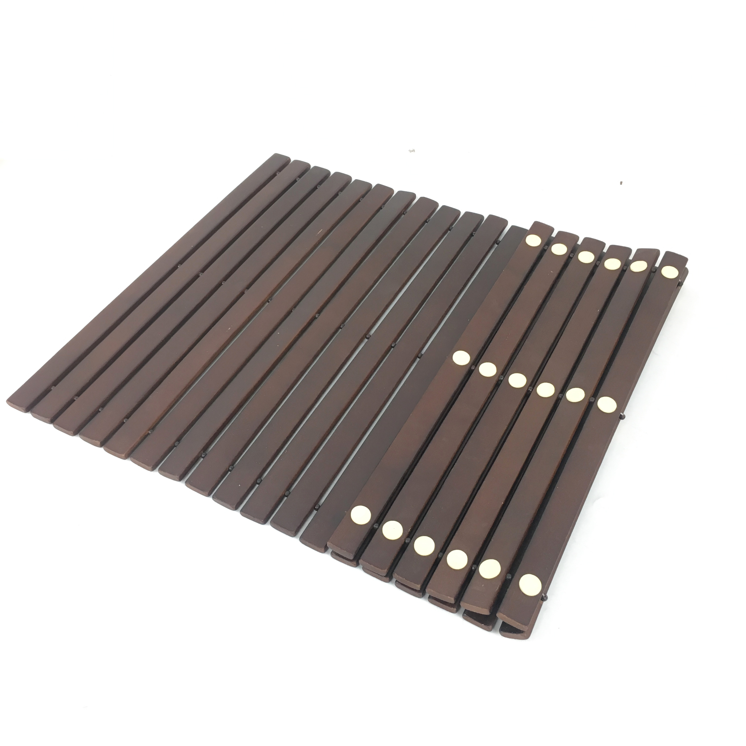 non design shower bathroom product itm slip bamboo natural wooden small details bath mat duck board