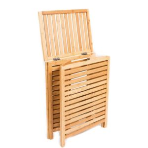 Bamboo Laundry Hamper/Bamboo laundry storage basket/Laundry basket